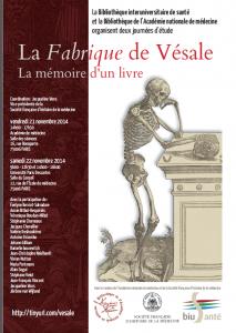 Vésale_La Fabrique_affiche