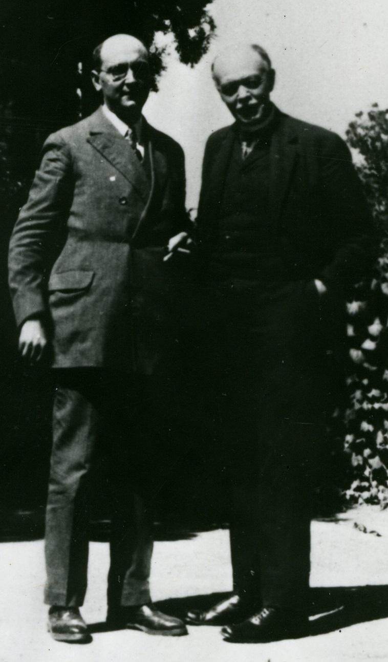 Georges Duhamel et Charles Nicolle à Valmondois_1923-1925
